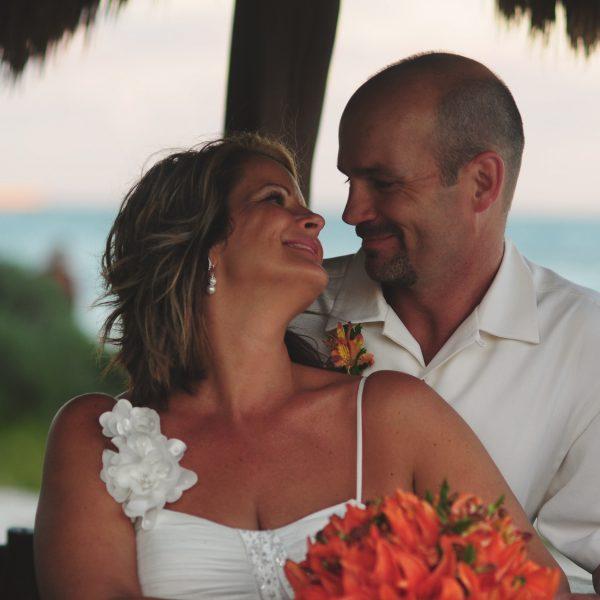 J & R Beach Ceremony